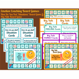 Emotion Coaching Board Games